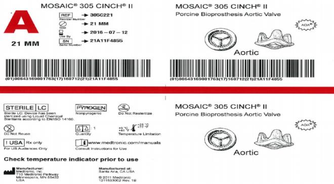 Eksempel på UDI kompatibel merking